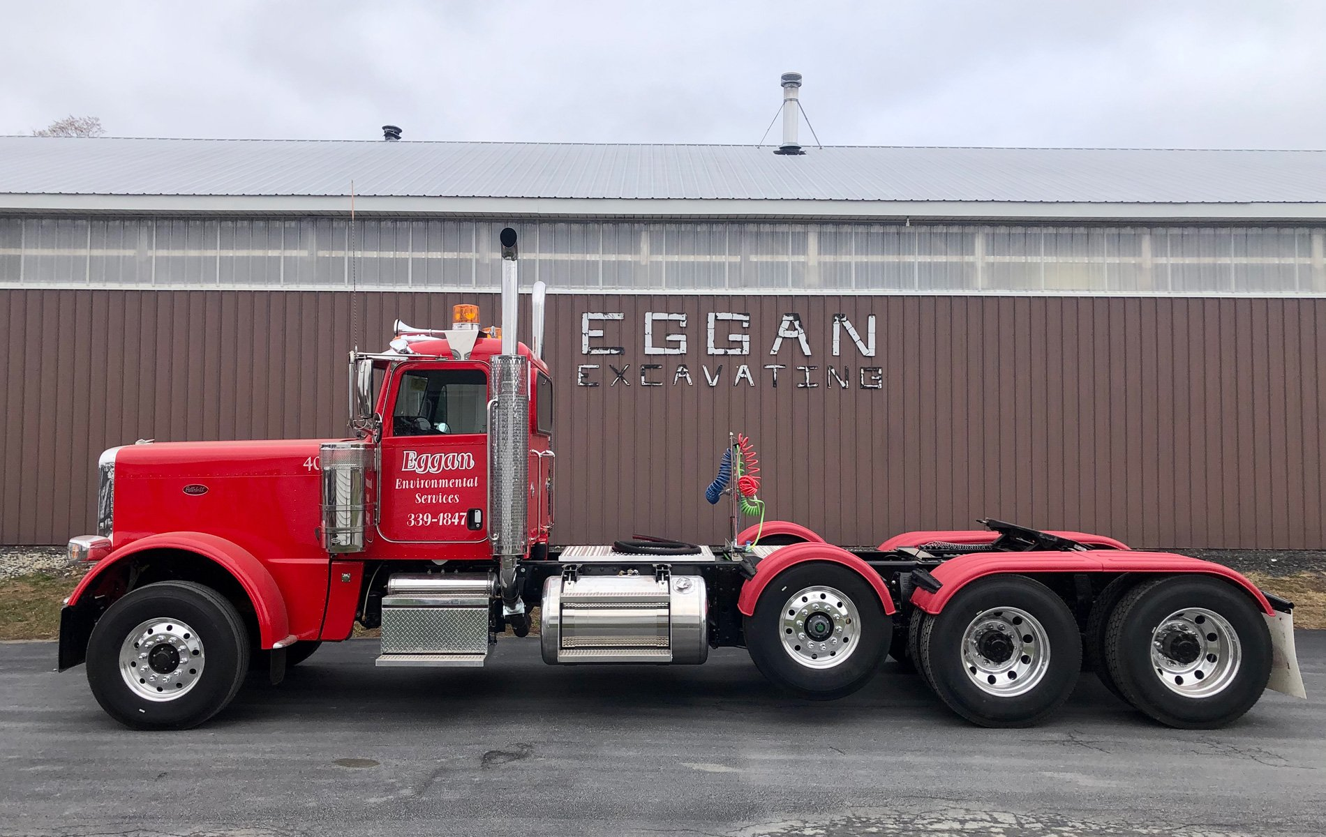 Eggan Truck and Building